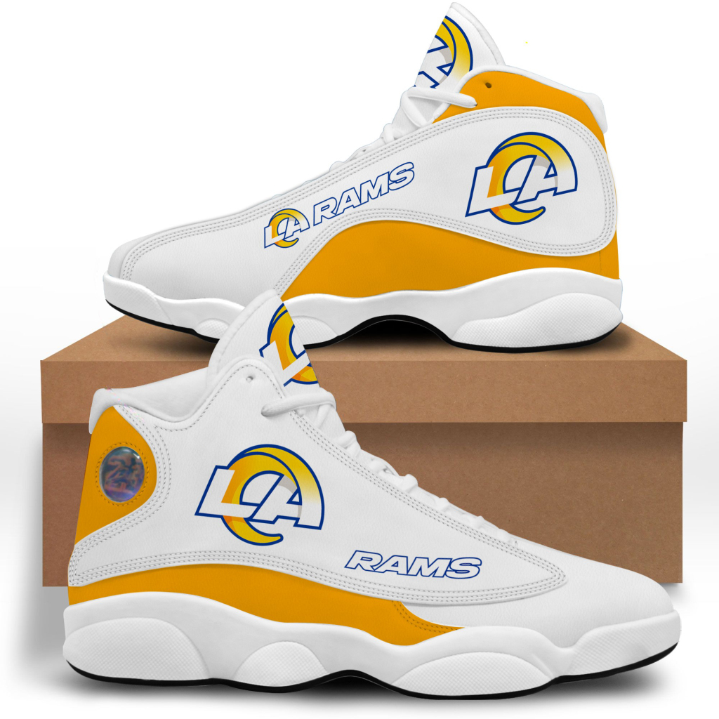Women's Los Angeles Rams Limited Edition JD13 Sneakers 003