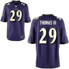 Men's Baltimore Ravens #29 Earl Thomas Purple Stitched NFL Game Jersey