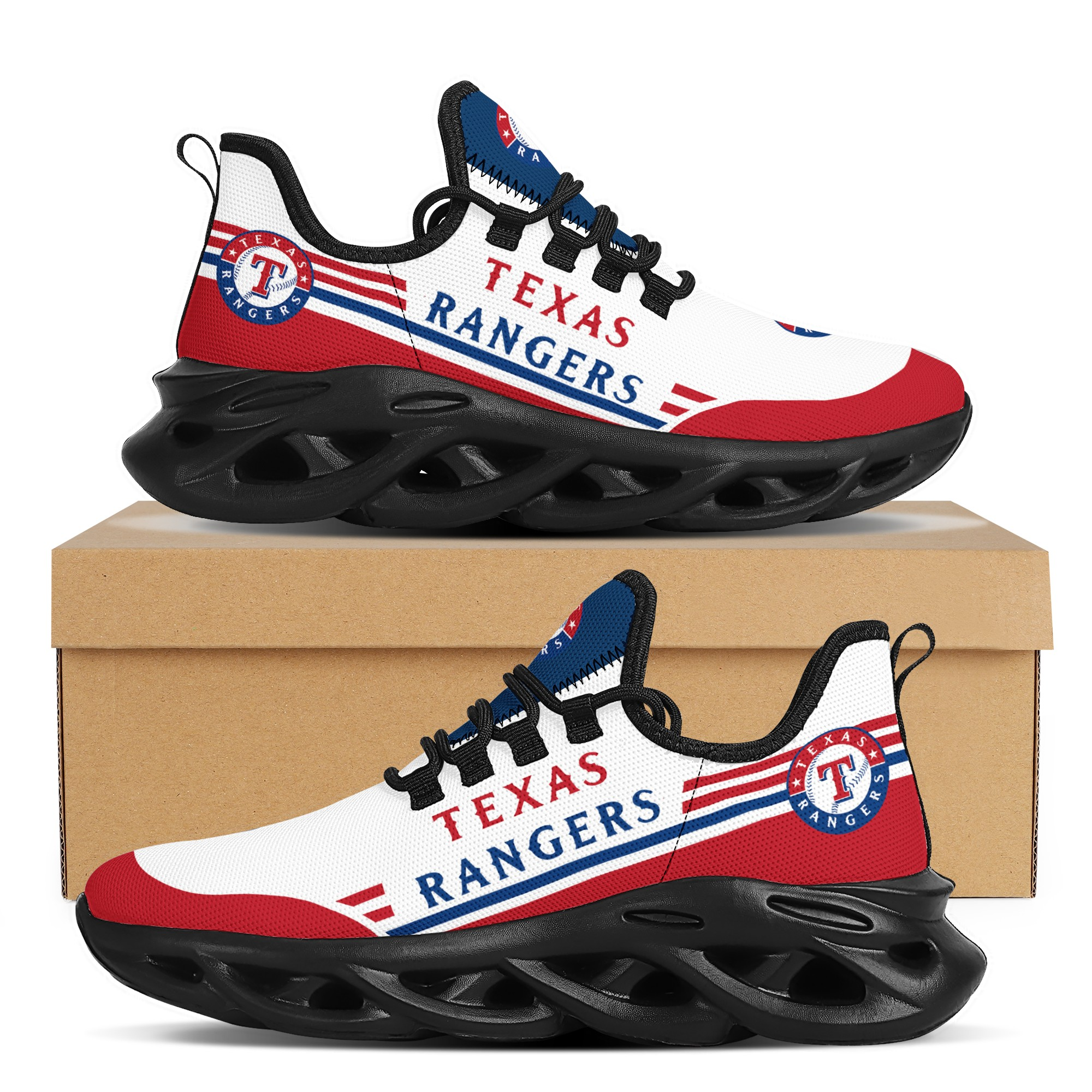 Women's Texas Rangers Flex Control Sneakers 001