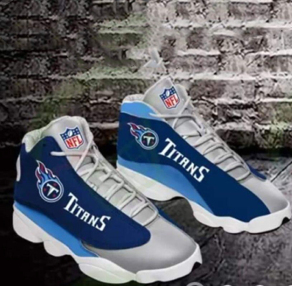 Women's Tennessee Titans Limited Edition JD13 Sneakers 003
