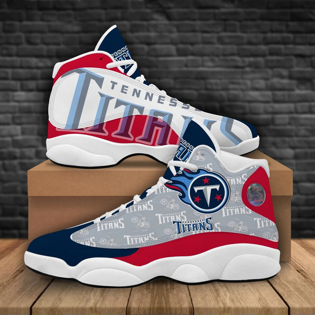 Women's Tennessee Titans Limited Edition JD13 Sneakers 001