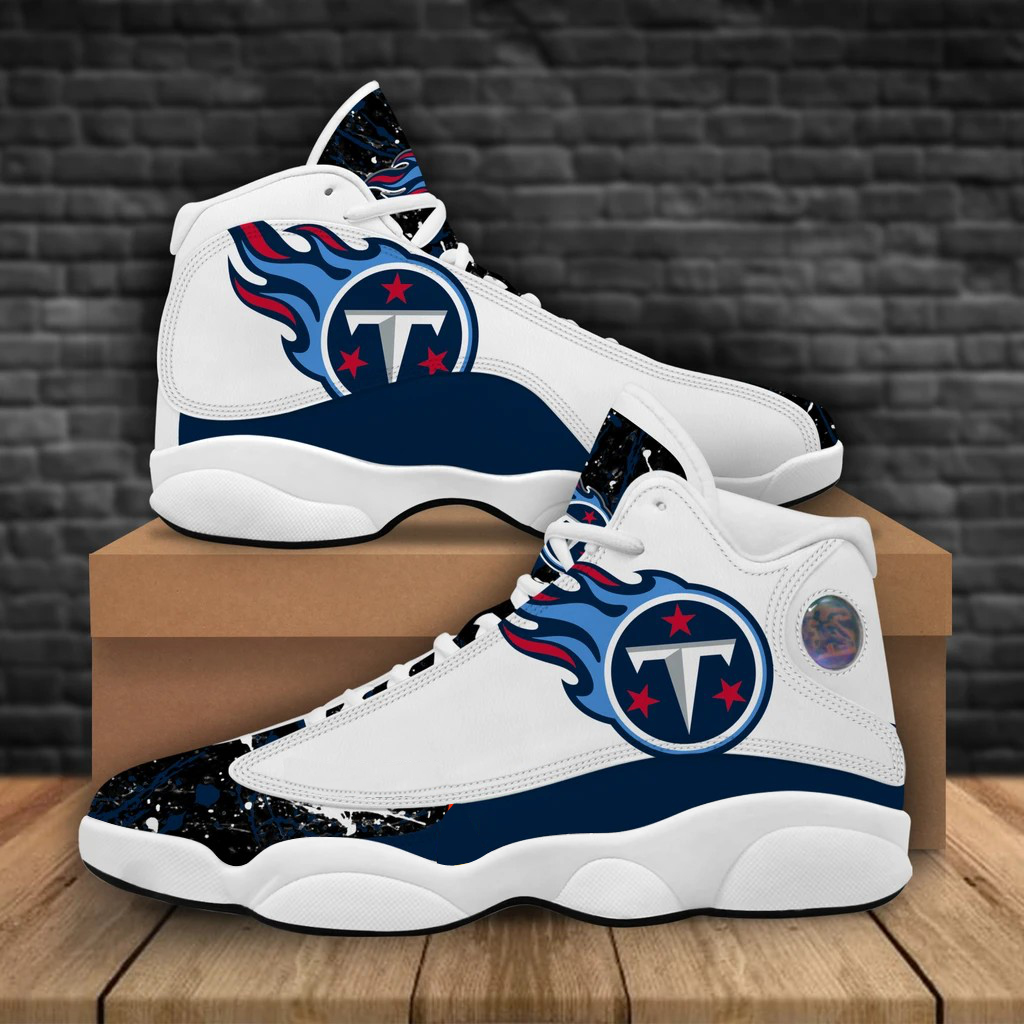 Women's Tennessee Titans Limited Edition JD13 Sneakers 002
