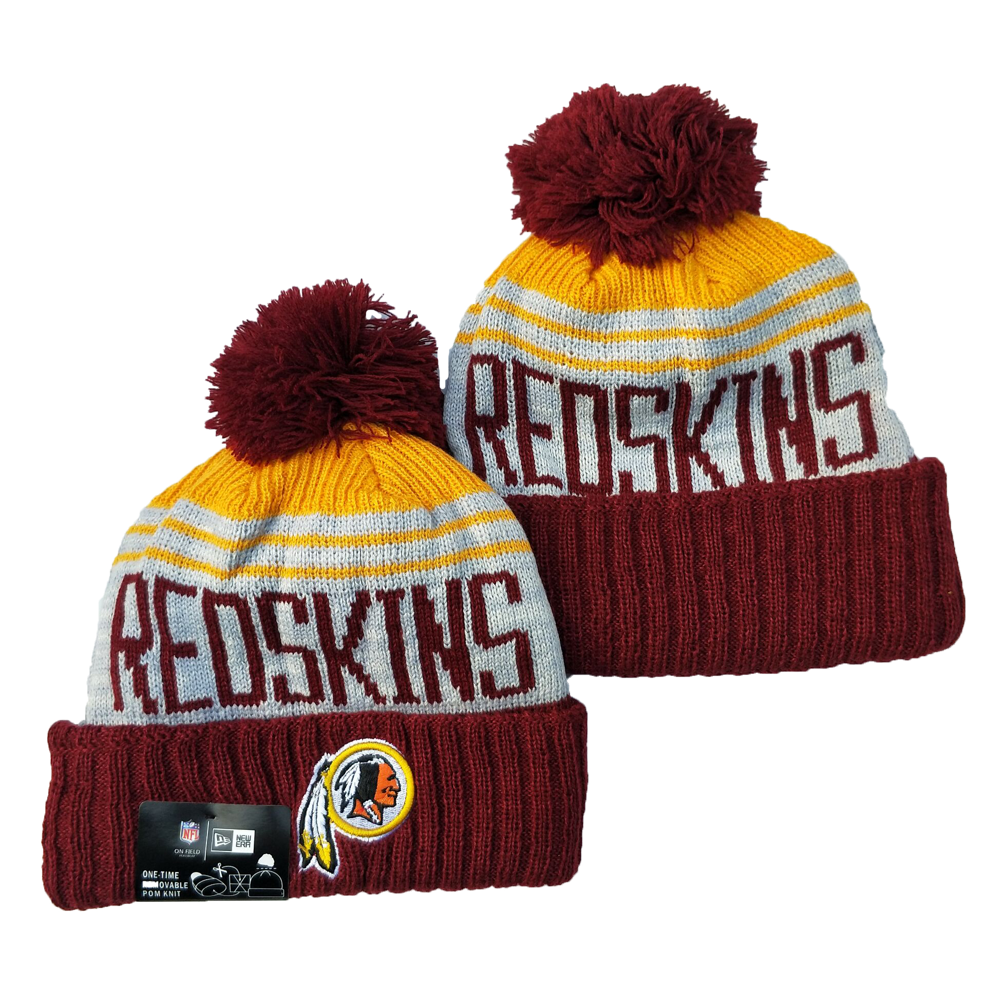 Washington Football Team Knit Hats 056