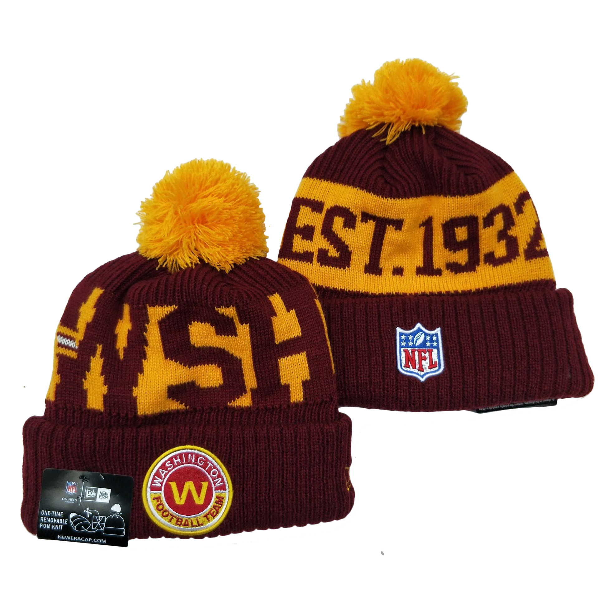 Washington Football Team Knit Hats 052