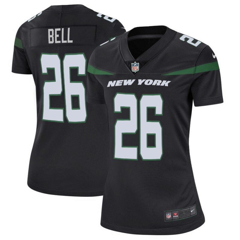 Women's New York Jets #26 Le'Veon Bell 2019 Black Vapor Untouchable Limited Stitched NFL Jersey(Run Small)