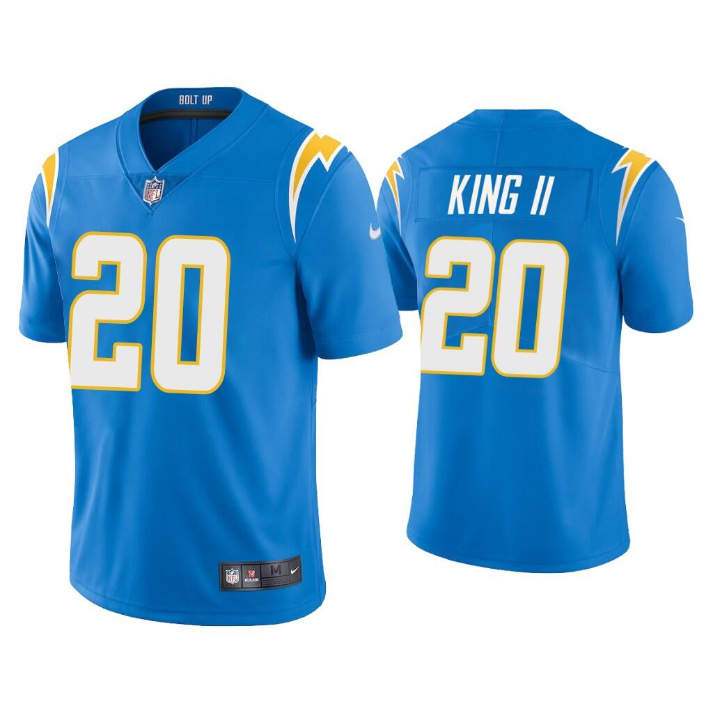 Youth Los Angeles Chargers #20 Desmond King II 2020 Blue Vapor Untouchable Limited Stitched Jersey