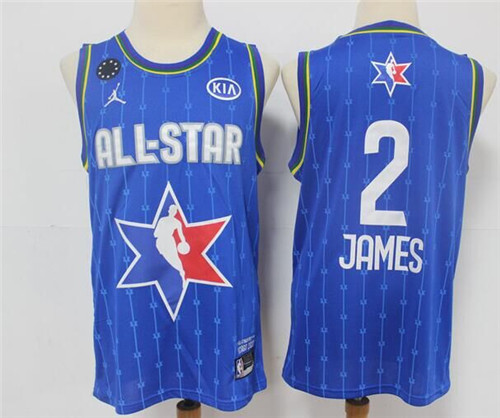 Youth Los Angeles Lakers #2 LeBron James Blue 2020 All-Star Stitched NBA Jersey