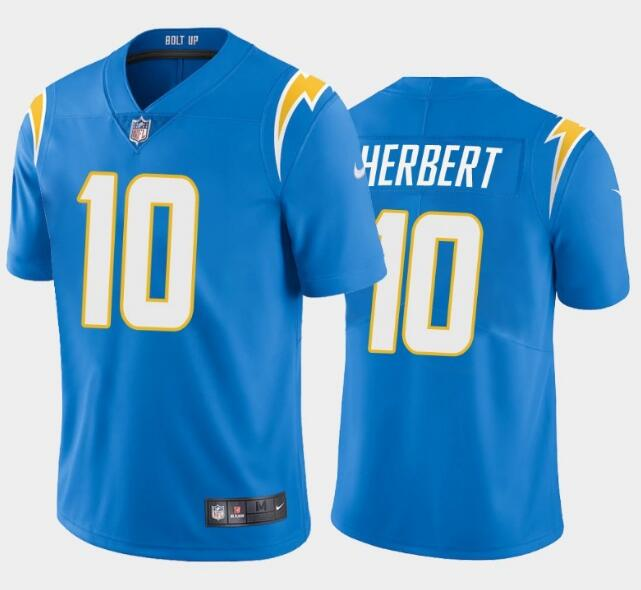 Youth Los Angeles Chargers #10 Justin Herbert 2020 Blue Vapor Untouchable Limited Stitched Jersey