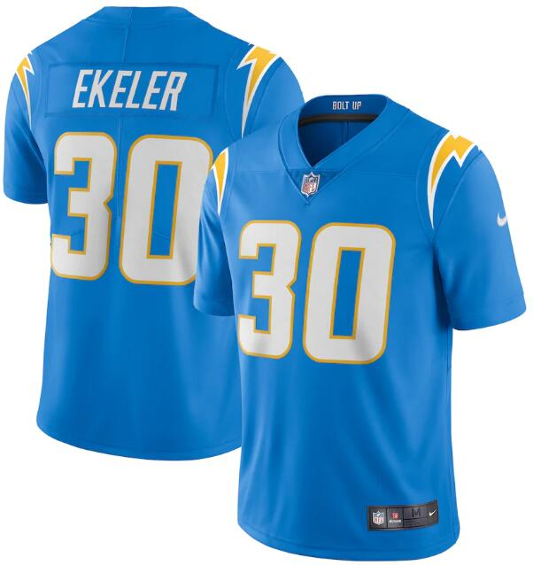 Youth Los Angeles Chargers #30 Austin Ekeler 2020 Blue Vapor Untouchable Limited Stitched Jersey