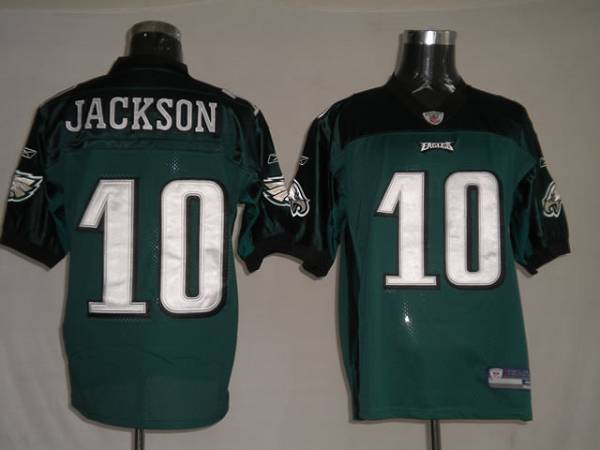 Eagles #10 DeSean Jackson Green Stitched Youth NFL Jersey