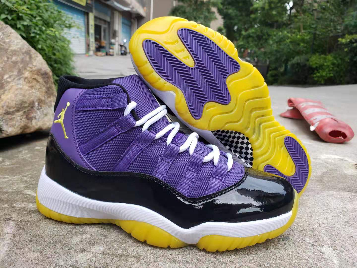 Men's Running Weapon Air Jordan 11 Shoes 007