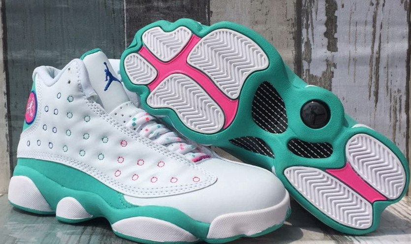 Women's Running weapon Air Jordan 13 Shoes 006