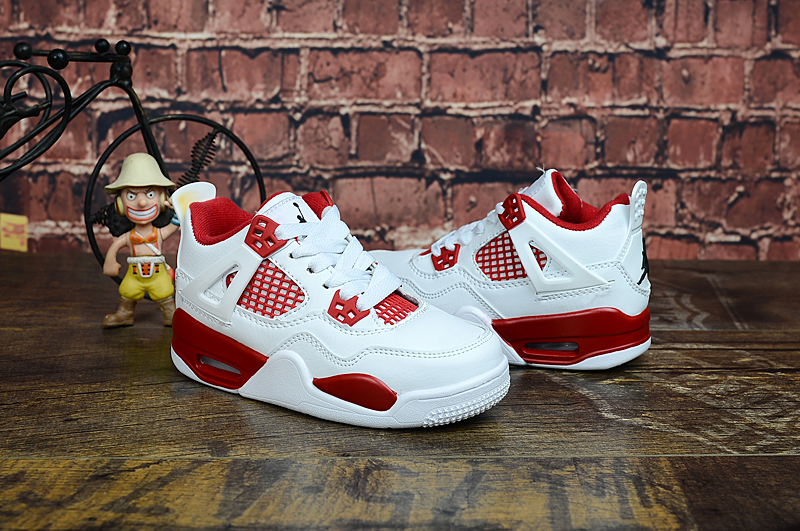 Youth Running weapon Super Quality Air Jordan 4 Shoes 005
