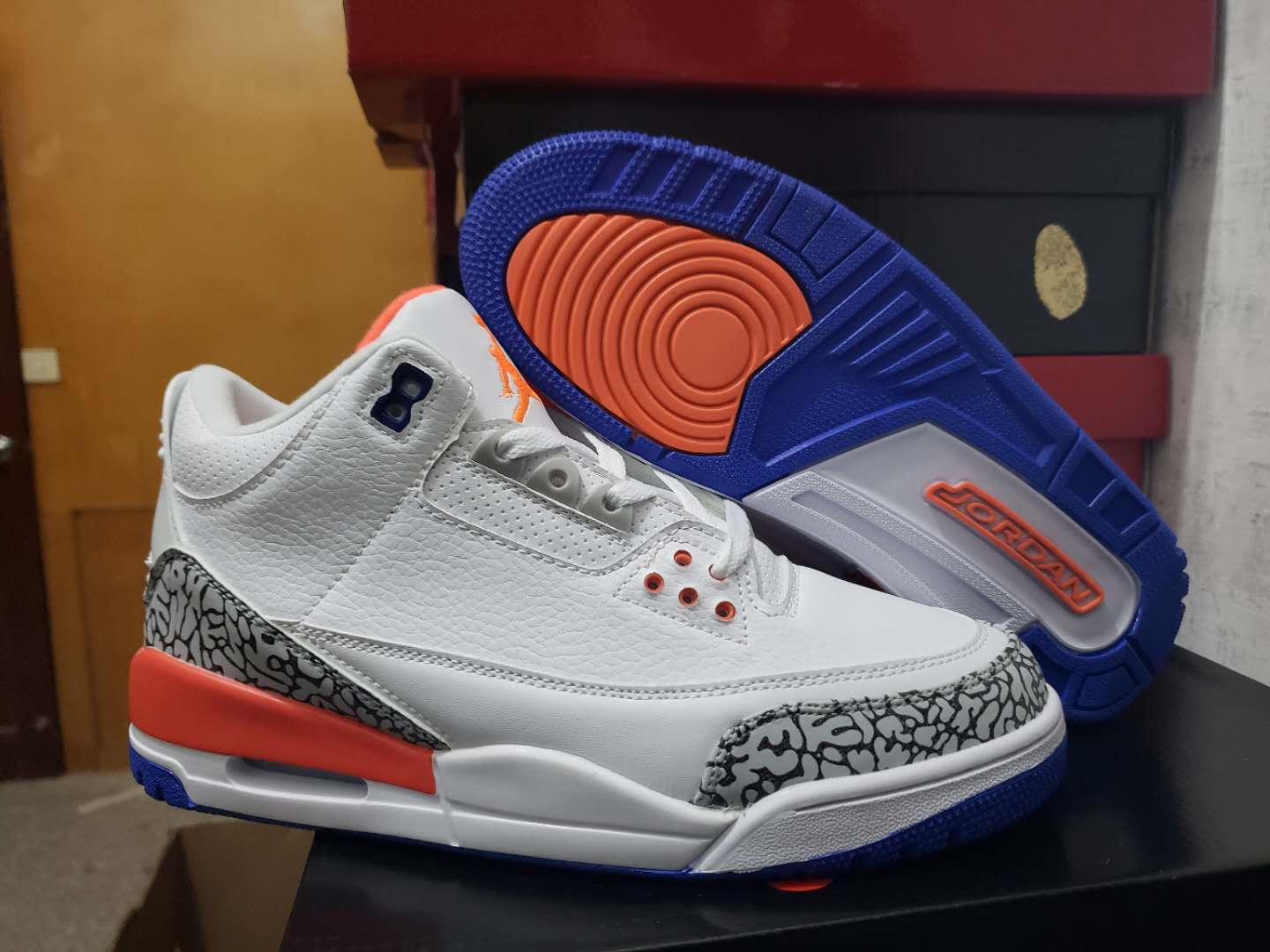 Men's Running weapon Super Quality Air Jordan 3 Shoes 001
