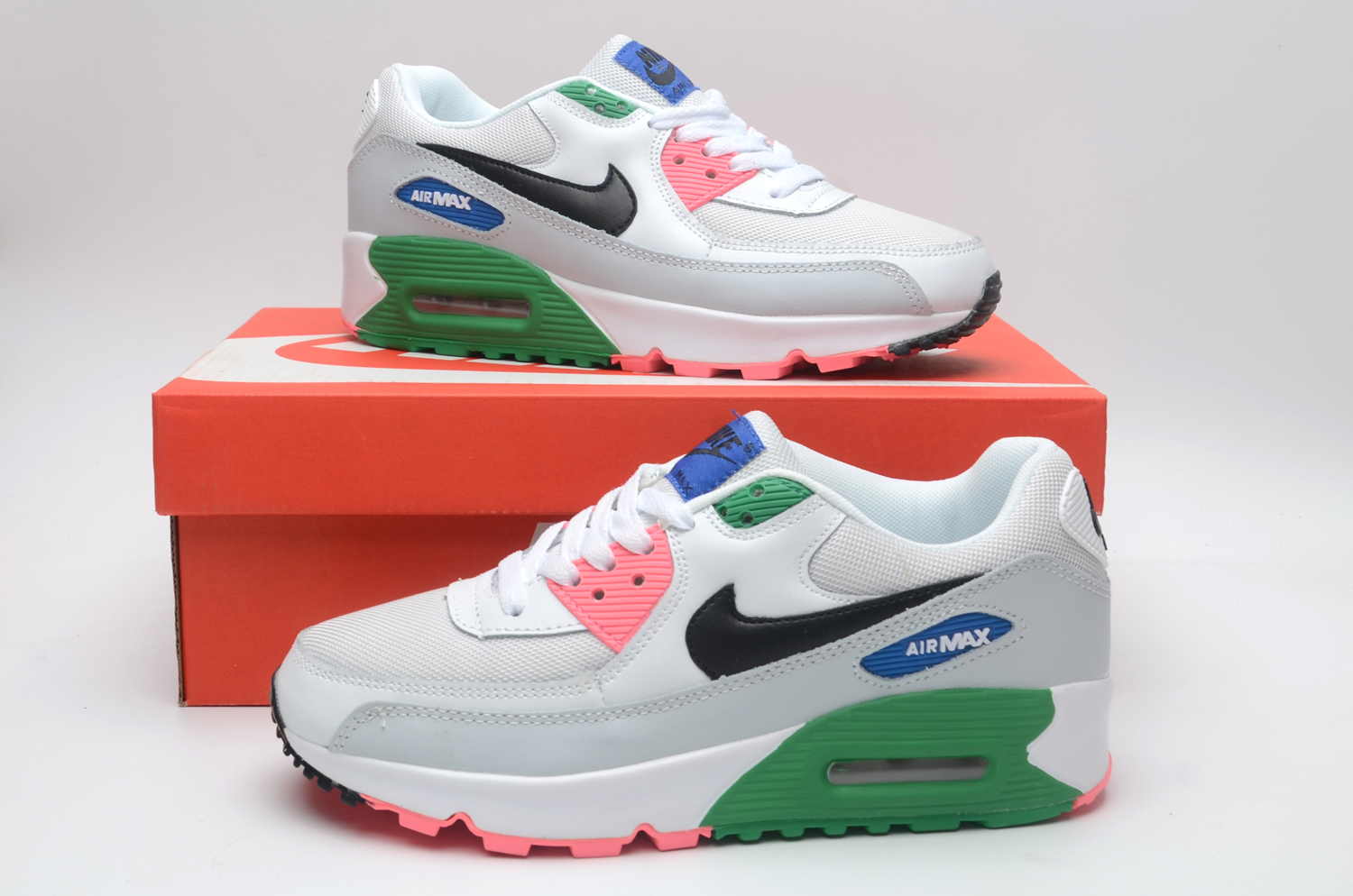 Women's Running weapon Air Max 90 Shoes 038
