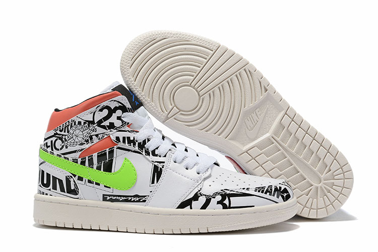 Men's Running weapon Air Jordan 1 Shoes 035