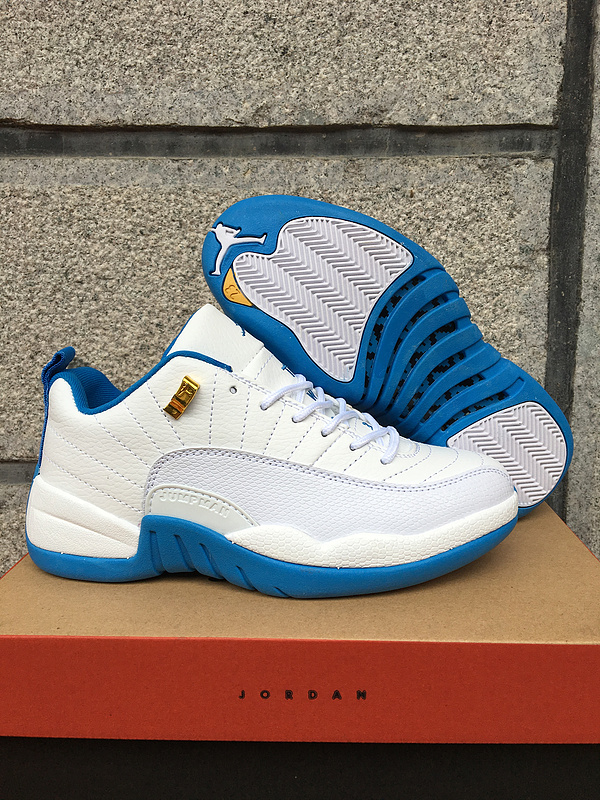 Running weapon Cheap Air Jordan 12 Retro Women University Blue