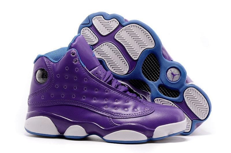 Running weapon Cheap China Air Jordan 13 Violet Shoes Retro Women