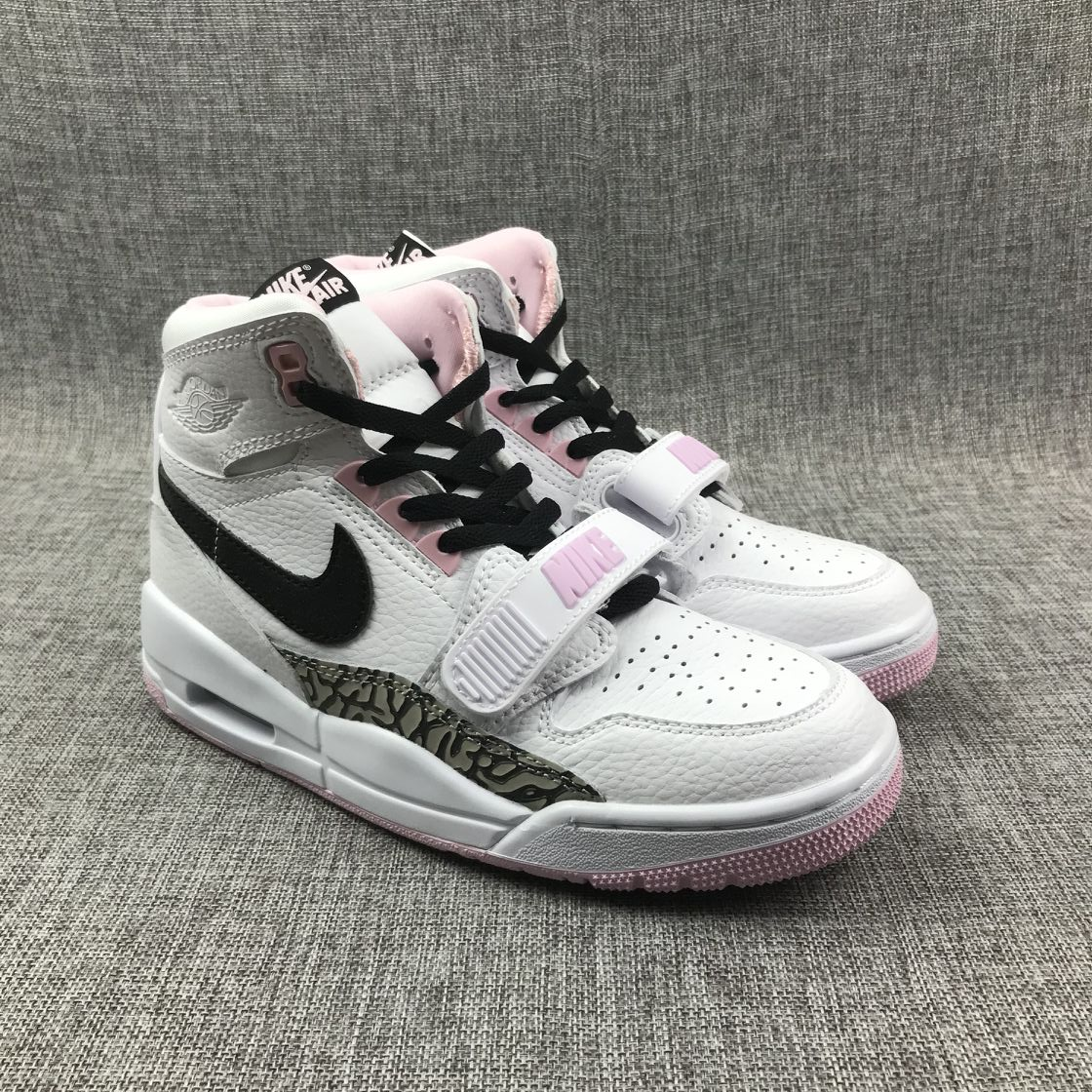 Women's 2019 Running weapon Air Jordan 3 shoes 002