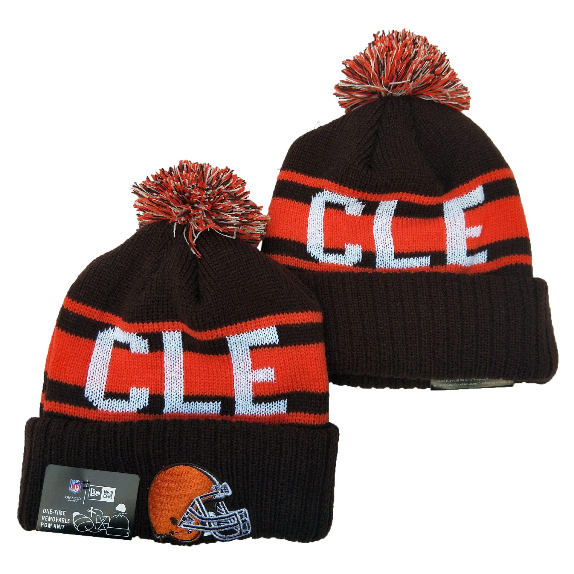 Cleveland Browns Knit Hats 032