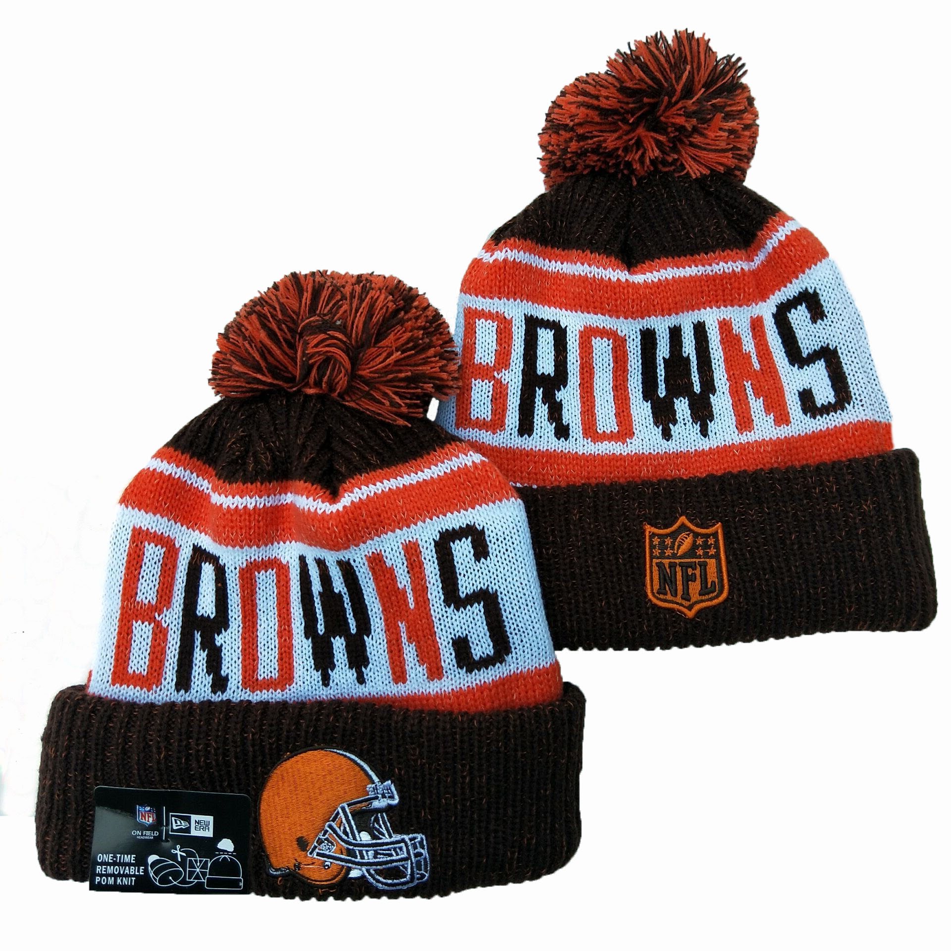 Cleveland Browns Knit Hats 036
