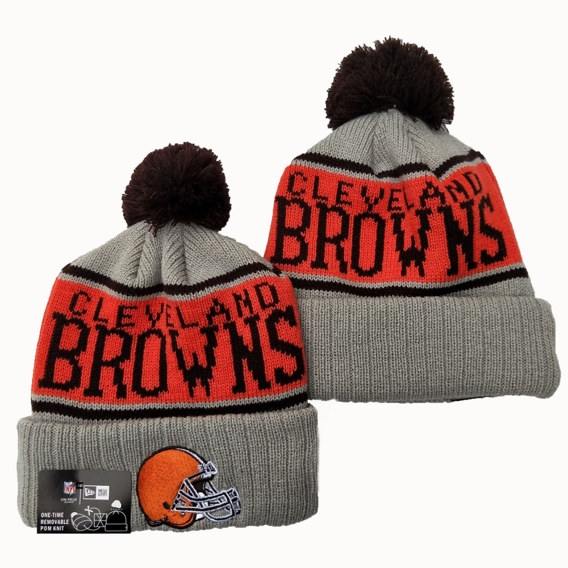 Cleveland Browns Knit Hats 037
