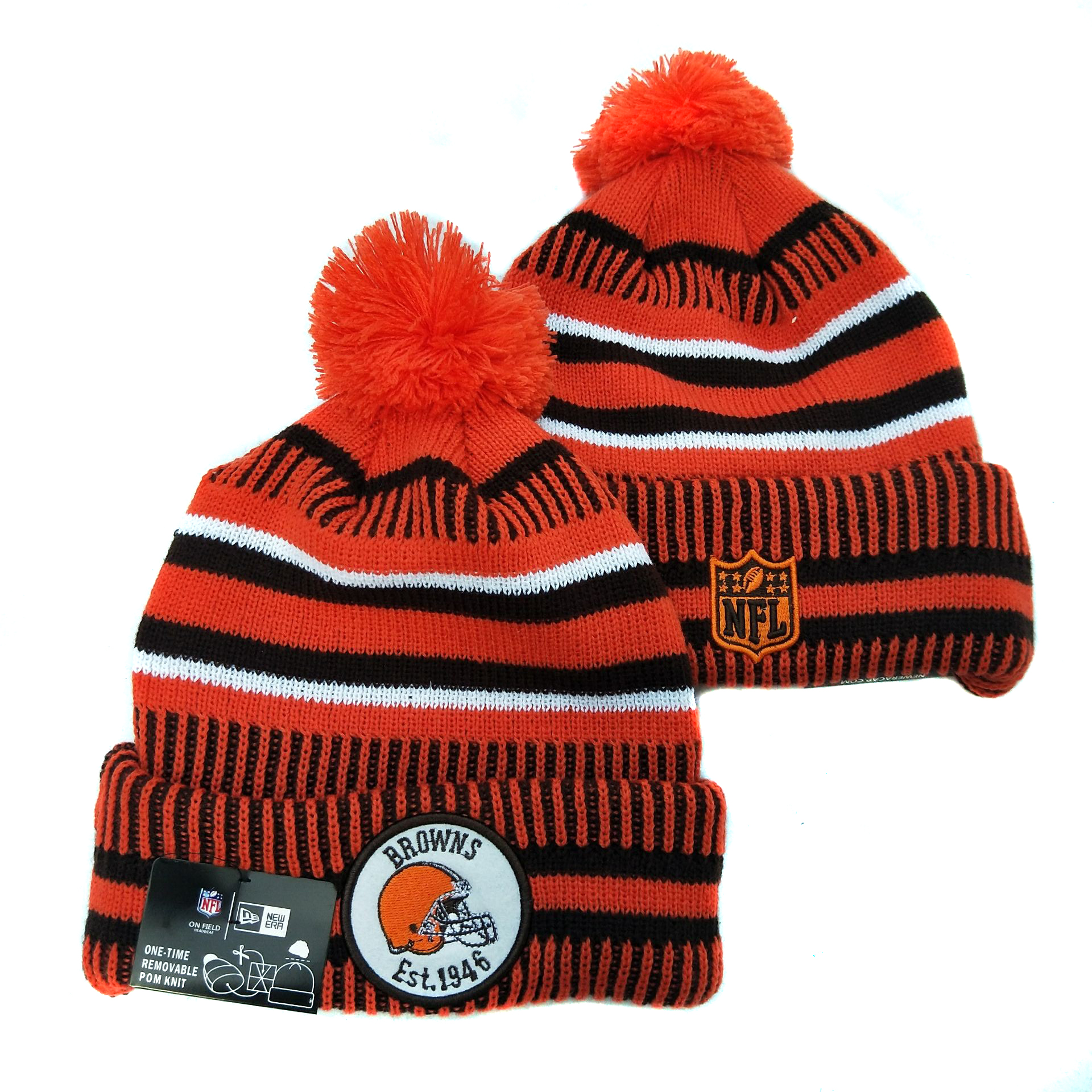 Cleveland Browns Knit Hats 038