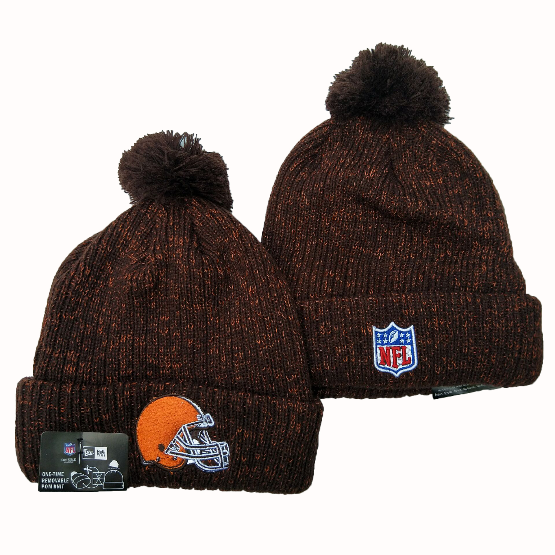 Cleveland Browns Knit Hats 039