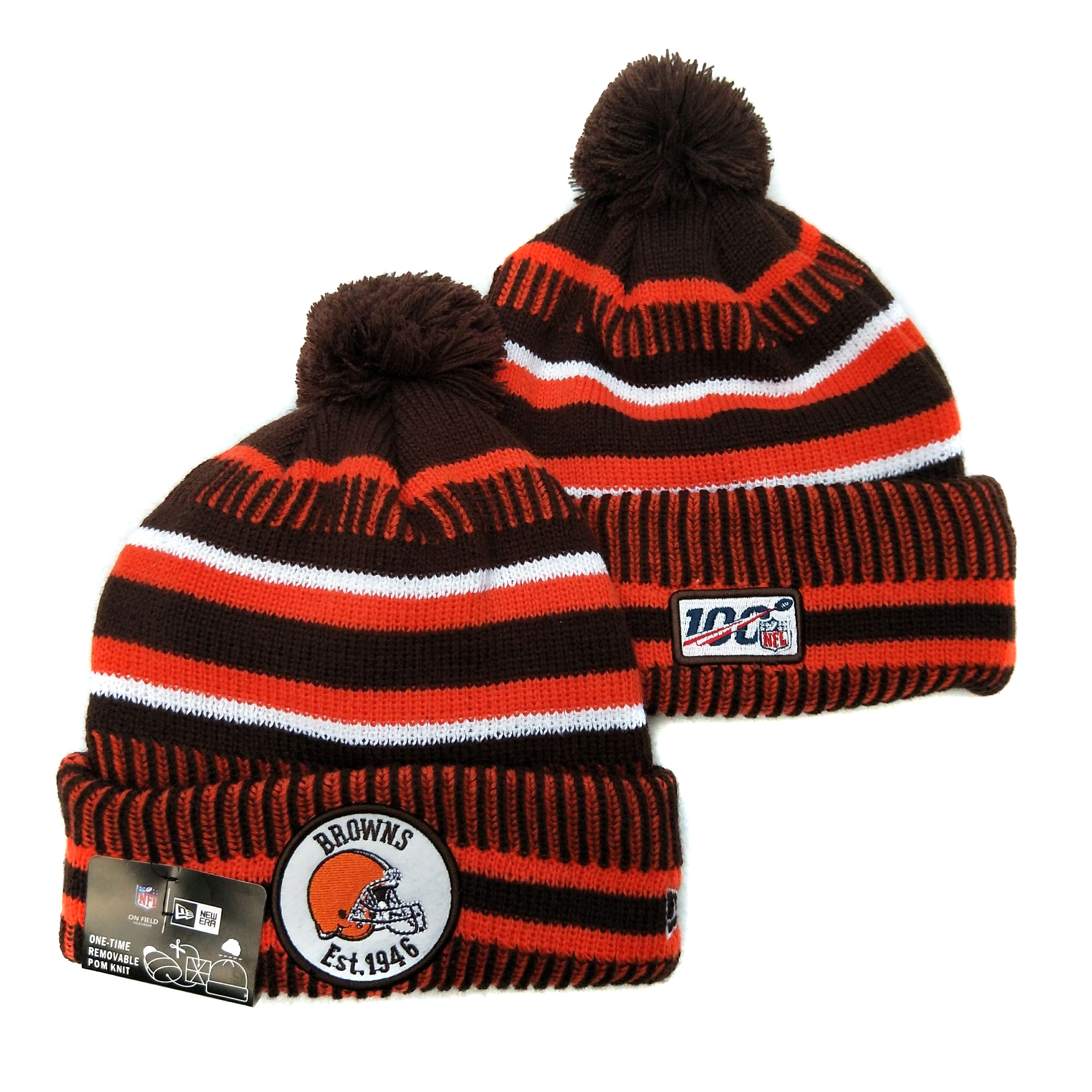 Cleveland Browns Knit Hats 041