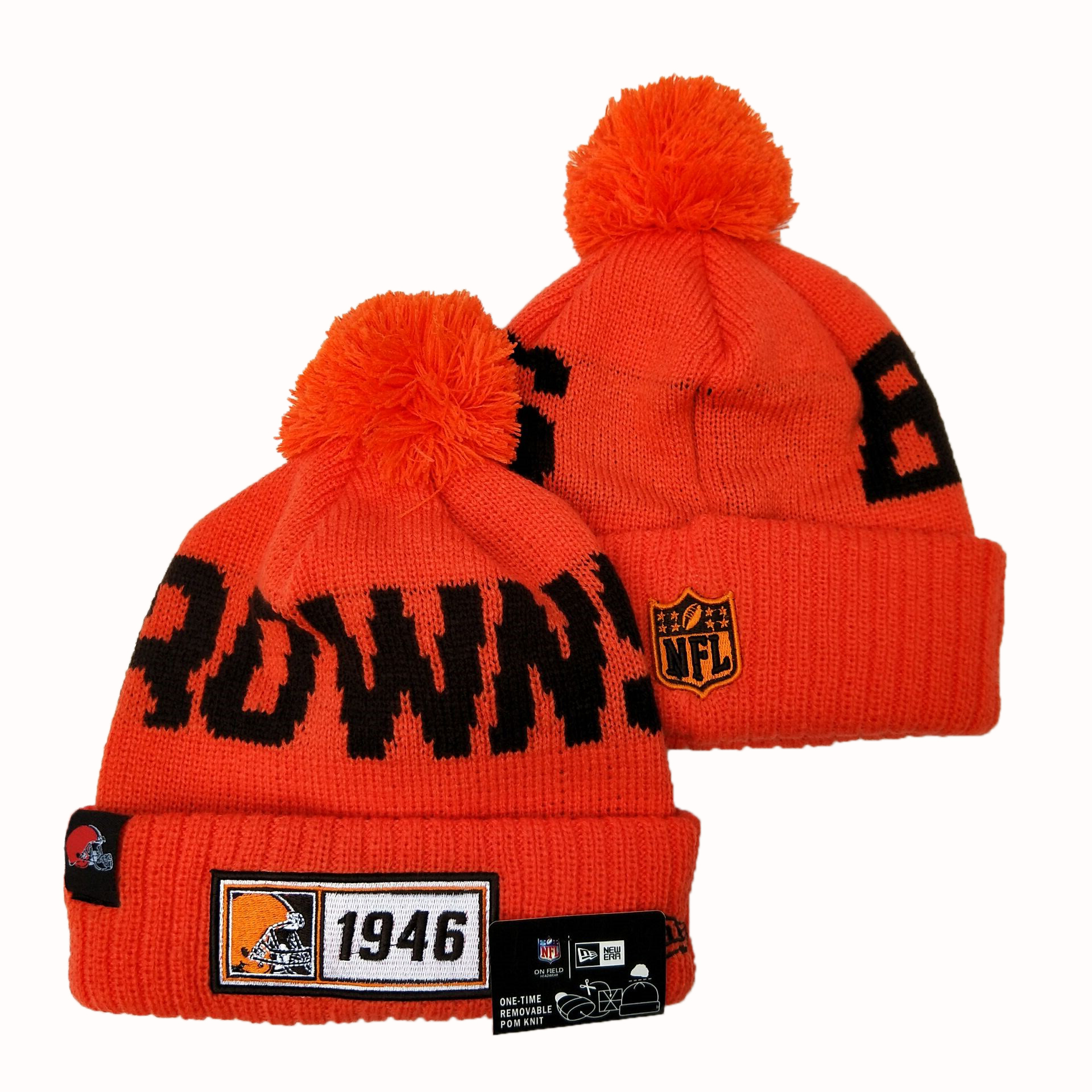 Cleveland Browns Knit Hats 043