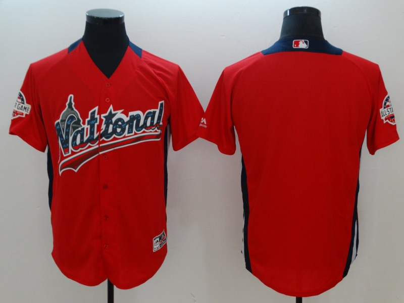 National League Scarlet 2018 MLB All-Star Game Home Run Derby Team Jersey
