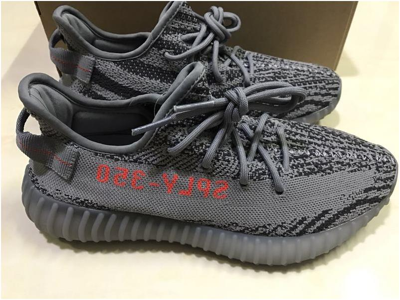 "2017 New Adidas Yeezy Boost 350 V2 ""Carbon Grey"" Release"