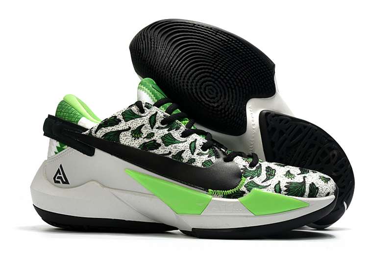 Men's Running weapon Zoom Freak 2 Green And White-Black DA0907-002Shoes 006
