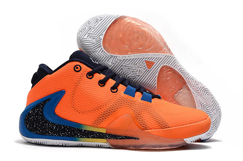 Men's Running weapon Zoom Freak 1 Orange And Blue Shoes 0025