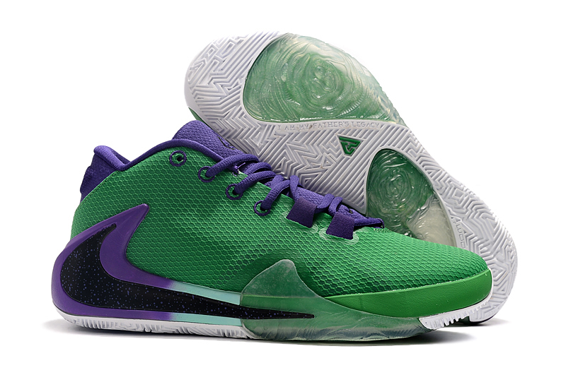 Men's Running weapon Zoom Freak 1 Green And Purple Shoes 0028