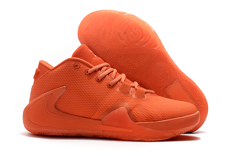 Men's Running weapon Zoom Freak 1 Orange Shoes 0029