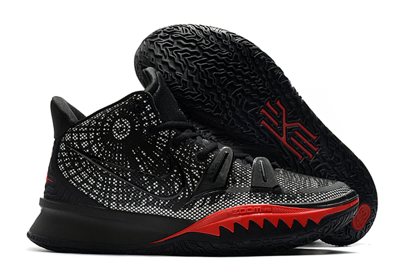 Men's Running weapon Kyrie Irving 7 Black Shoes 008