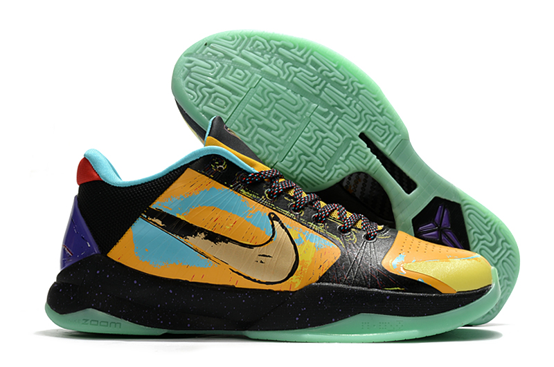 Men's Running weapon Kobe 5 Prelude 639691-700 Shoes 007
