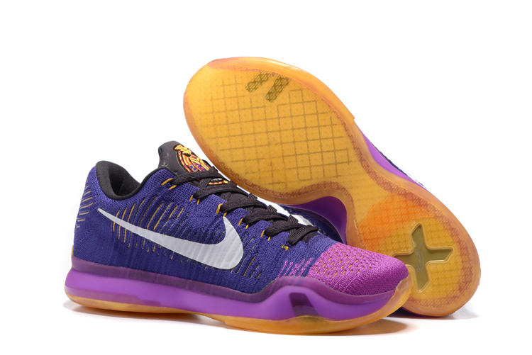 Running weapon Wholesale Cheap Nike Kobe 10 Knit Shoes Men China