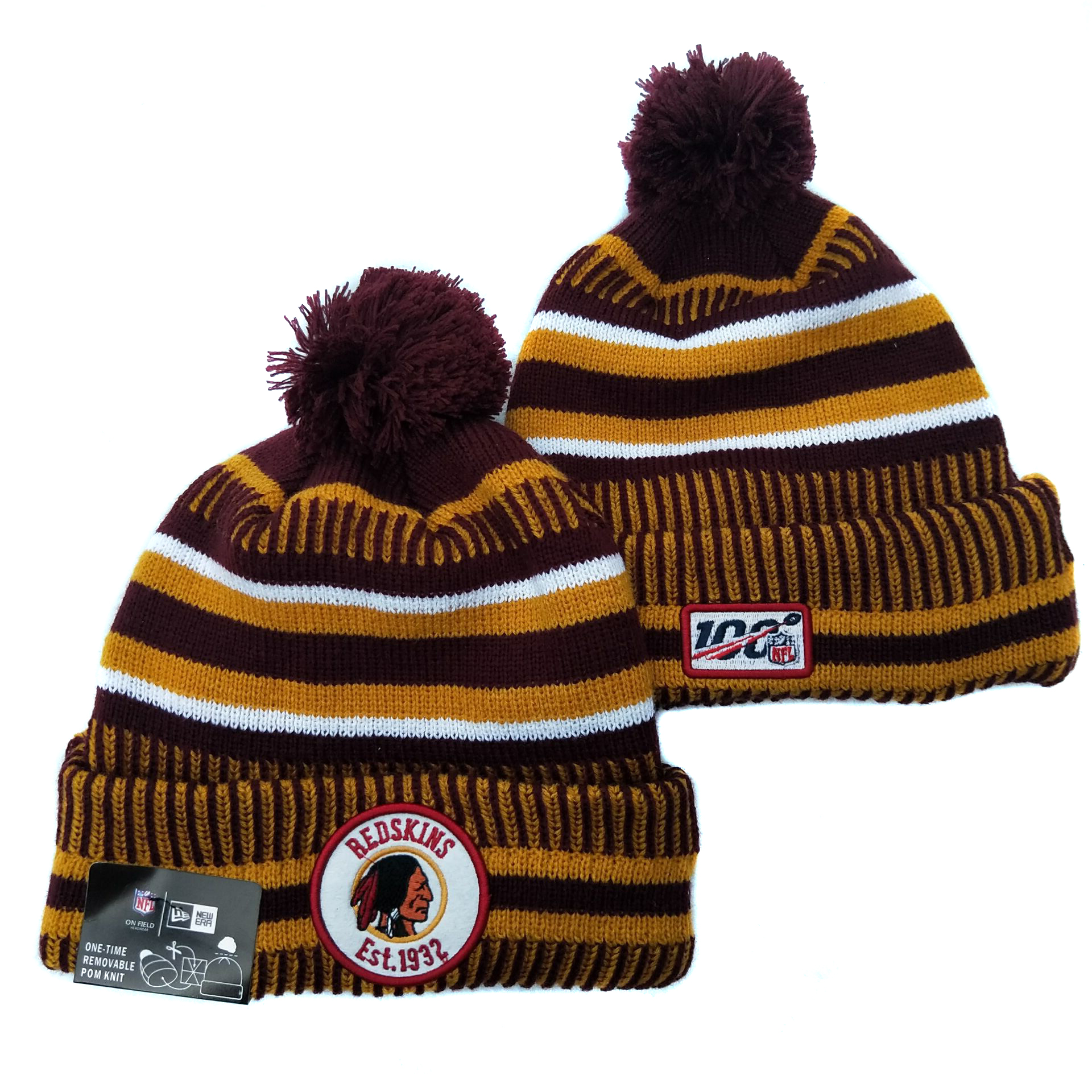 Washington Football Team Knit Hats 045