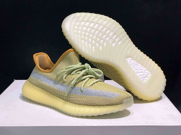 "Women's Running Weapon Yeezy Boost 350 V2 ""Marsh"" Shoes 036"
