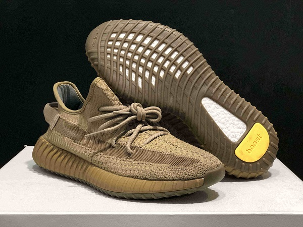 "Women's Running Weapon Yeezy Boost 350 V2 ""Earth"" Shoes 040"