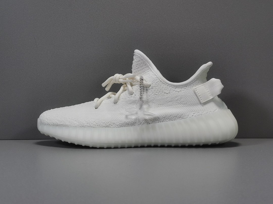 "Women's Running Weapon Yeezy Boost 350 V2 ""Cwhite"" Shoes 034"